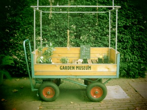 The Garden Museum at Lambeth has no government endowment or financial backer. It is run solely by volunteers and costs £10,000 a year to keep up.