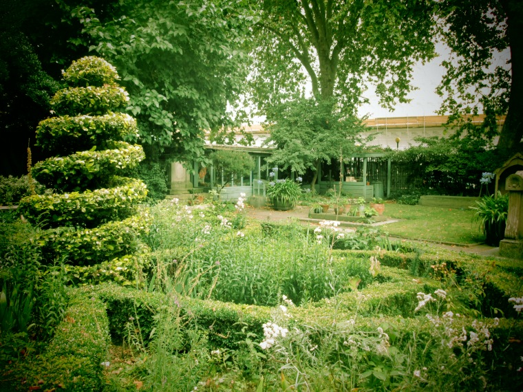 The Garden Museum is a seventeenth century sanctuary in the heart of what is now a corporate Lambeth